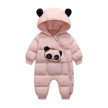 Baby Boy Girl Clothes Winter Rompers