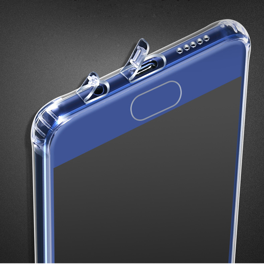 bilder für 10 STÜCKE Premium Transparent Klar Silikon Weicher TPU Fall Für Huawei P10 Fall P10 Plus Fall-abdeckung Für Huawei P10/P10 Plus fall