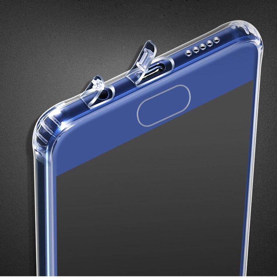 imágenes para 10 UNIDS Premium Claro Transparente de Silicona Suave Tpu Para Huawei Caso P10 P10 P10 Más Cubierta de La Caja Para Huawei/P10 Plus caso