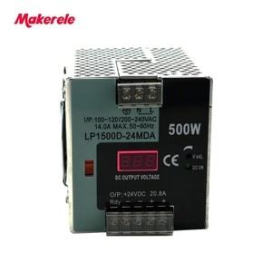 Image 5 - LP Serisi Din Rail tek çıkış anahtarlama güç kaynağı 25 W 50 W 100 W 150 W 300 W 500 W Dijital Ekran 12/24 V ac dc Ce ile onaylaması