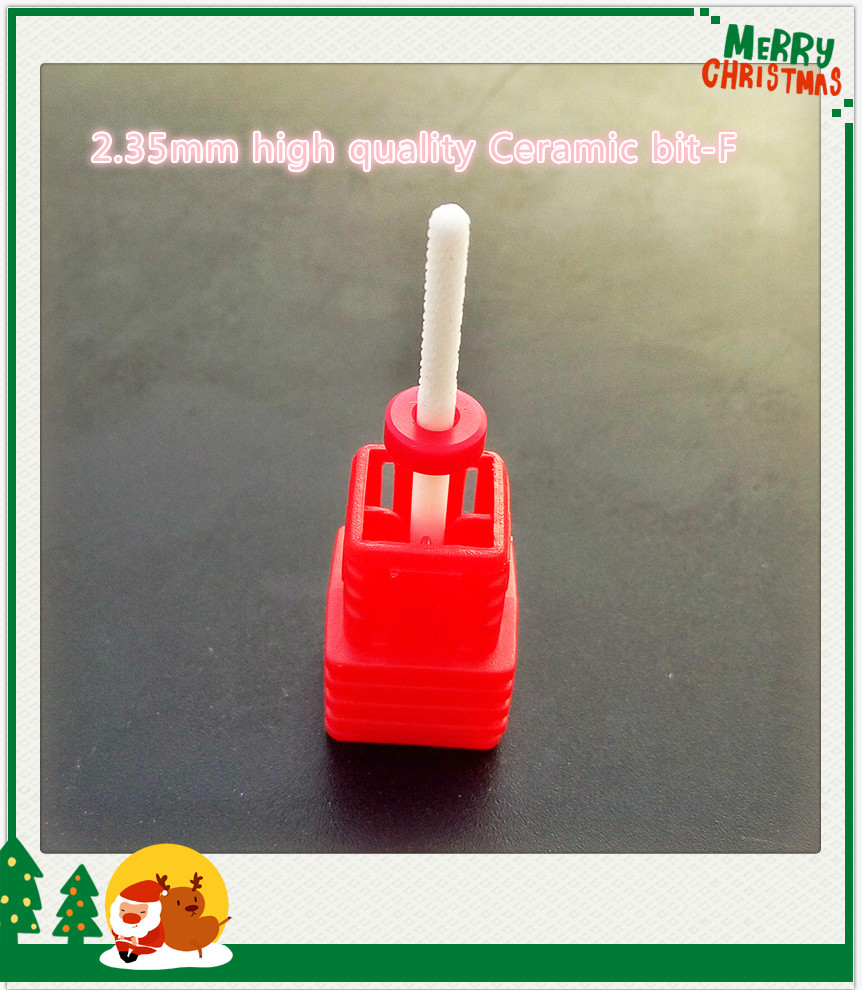 1pcs wholesale 3 32 Ceramic Fine nail drill bit salon electric drill manicure machine for nail