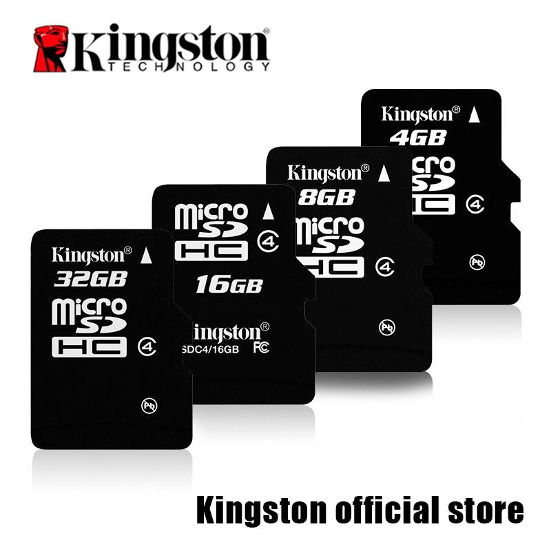 Kingston MicroSD карты Digital 16 ГБ 32 ГБ класса 4 MicroSDHC flash карты (sdc4/16 gbet  ...