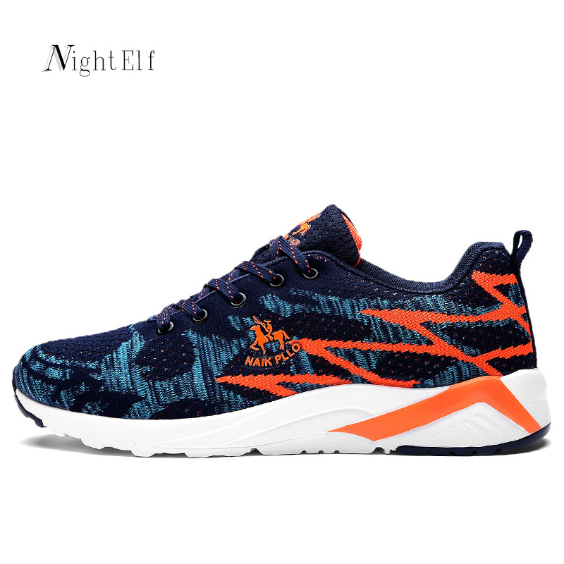 Night Elf men running shoes for men sport shoes breathable summer flywire air mesh men jogging walking trainers sneakers 2017 men yeezy running shoes sport big size black gray mesh jogging shoes for men summer autumn sneakers mens athletic trainers male