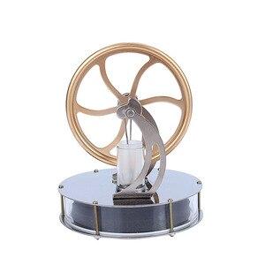 Image 3 - נמוך טמפרטורת סטירלינג מנוע מנוע קיטור חום חינוך דגם חום קיטור חינוך צעצוע לילדים קרפט קישוט גילוי