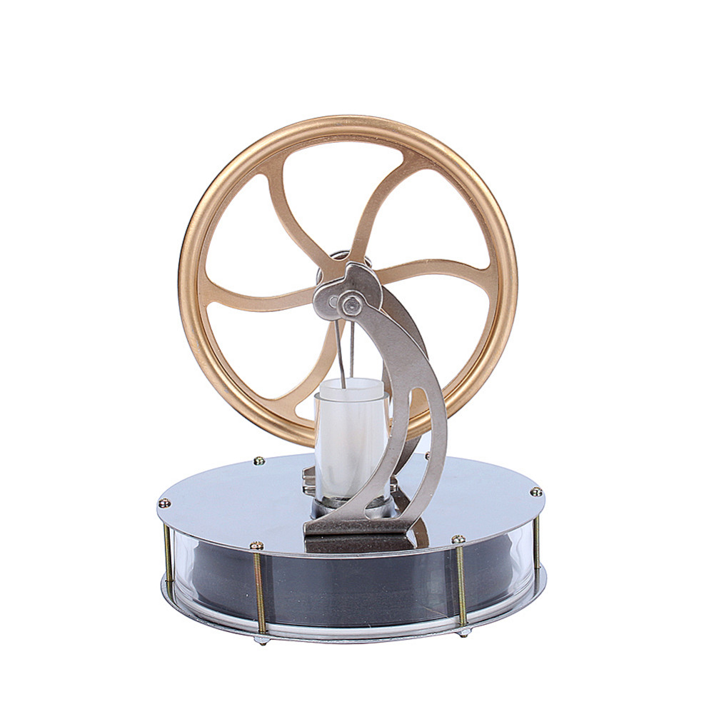 Image 3 - Low Temperature Stirling Engine Motor Steam Heat Education Model Heat Steam Education Toy  For Kids Craft Ornament Discoverygifts for kidsgift giftsgift toys -