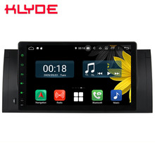 9″ IPS Octa Core 4G WIFI Android 8.1 4GB RAM 64GB ROM RDS BT Car DVD Player Stereo Autoradio GPS Glonass For BMW M5 X5 E53 E39