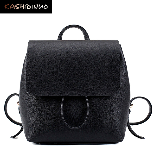 Kashidinuo марка корея стиль женщины рюкзаки высокое качество небольшой старинные путешествия рюкзак женщин девушки кожа сумка прекрасный back pack