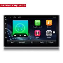 """2 Din Android 6.0 Car Radio Stereo 7 """"1024*600 Del Coche Universal Navegación del GPS del reproductor Wifi Radio DEL Bluetooth USB Reproductor de Audio (Sin DVD)"""