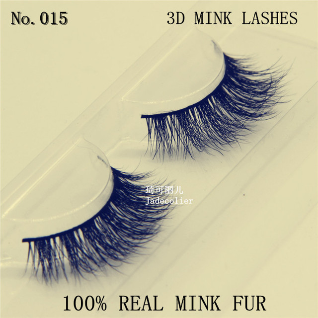 8ab414667d0 New style fashion hand made thick long 3D mink fur eyelash 100% real mink  fur