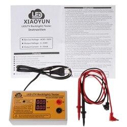 Ferramenta de teste de LED e luz de fundo de TV, testador de saída multiuso, 0-320v, tiras, grânulos