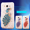 Luxury diamond crystal case para samsung galaxy s4 s5 j1 j1 mini j2 j3 j5 j7 2016 case cubierta del teléfono móvil
