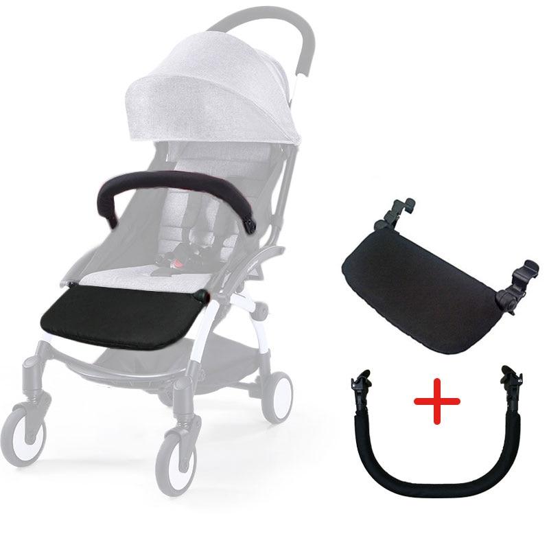 Baby Yoya Stroller Accessories Yoyo Stroller Armrest Bumper Bar Stroller Footrest Footboard Pushchairs Pram Part