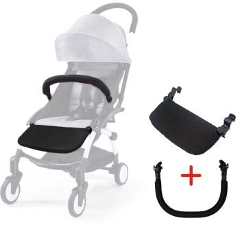 Baby Yoya Stroller Accessories Yoyo Stroller Armrest Bumper Bar Stroller Footrest Footboard Pushchairs Pram Part 1