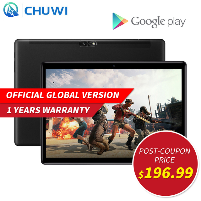 CHUWI Hi9 Air 10.1 inch Android 8.0 Tablet PC MT6797 X20 Deca Core 4GB RAM 64GB ROM Dual WIFI 4G LTE Tablet Phone Call GPS IPS