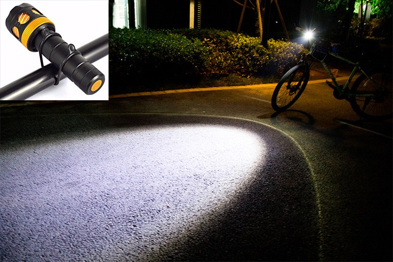 Cree T6 Headlamps Protable Lighting Accessory  Waterproof Zoomable Bike Light Headlight With Rechargeable 18650 Battery (4)