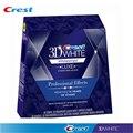 Crest 3D белые полосочки для отбеливания зубов 20 мешков/40 полосок набор для отбеливания зубов