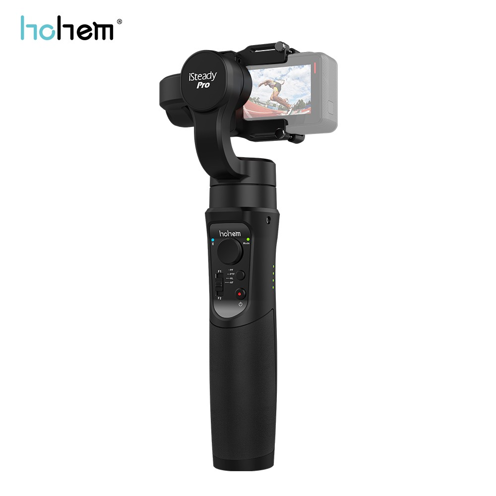 Hohem iSteady Pro De Poche Stabilisateur Cardan Mouvement de Soutien APP 3-Axe pour GoPro Hero 6/5/4 /3 SJCAM Sony RX0 PK feiyu g6 zhiyun