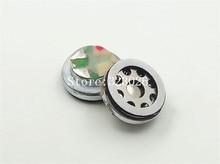 """10 מ""""מ רמקול יחידה בריליום קרום יחידת רמקול נע סליל 16 אוהם בס יחידה 1 זוג = 2 יחידות"""