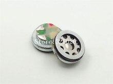10mm luidspreker Beryllium membraan unit luidspreker moving coil 16 ohm bas unit 1 paar = 2 stks