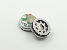 10mm speaker unit Beryllium membrane unit speaker moving coil 16ohms bass unit 1pair=2pcs