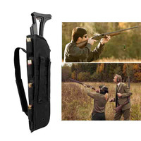 Tactical Rifle Gun Scabbard Bag Outdoor Hunting Fishing Shotgun Holster Pouch Multi Functional Long Carry Backpack