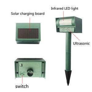 Image 3 - Repelente Solar infrarrojo patio jardín césped ratón unidad electrónica 2019 nueva llegada jardín césped ratón herramientas de transmisión electrónica