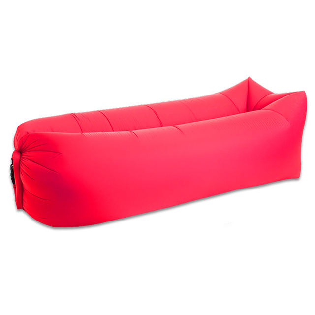 Inflatable Seat Sofa: Fashion Inflatable Air Sofa Bed Lazy Sleeping Bag Couch