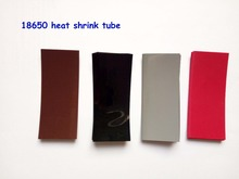 20pcs 18650 shrink wrap PVC heat shrink tube cable sleeves 18650 battery sleeve pvc