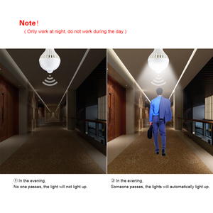 Image 4 - Diodo emissor de luz da noite pir sensor de luz lâmpadas corpo movimento 220 v 230 v sensor de movimento led lâmpada escadas corredor iluminação 5 w 7 9 w 12 w 18 w