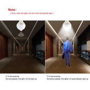 Image 4 - LED לילה אור PIR חיישן נורות גוף תנועת 220V 230V Motion חיישן LED מנורת מדרגות מסדרון תאורה 5W 7W 9W 12W 18W