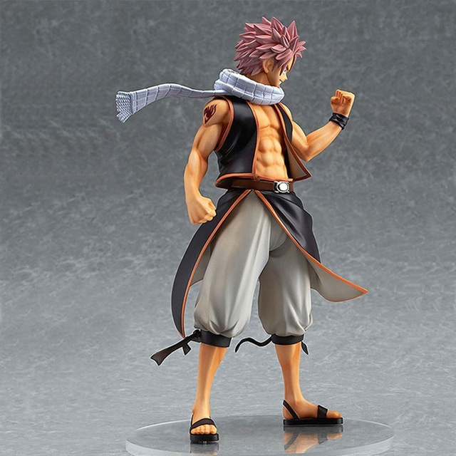 Anime PVC 1/7 Fairy Tail Natsu Dragnir Action Figure Natsu Dragneel Model Toy Decoration Collections