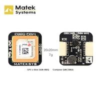 Nuevo Matek Systems M8Q-5883 72 canal Ublox SAM-M8Q GPS y QMC5883L con Módulo de brújula para RC Dron de carreras con visión en primera persona