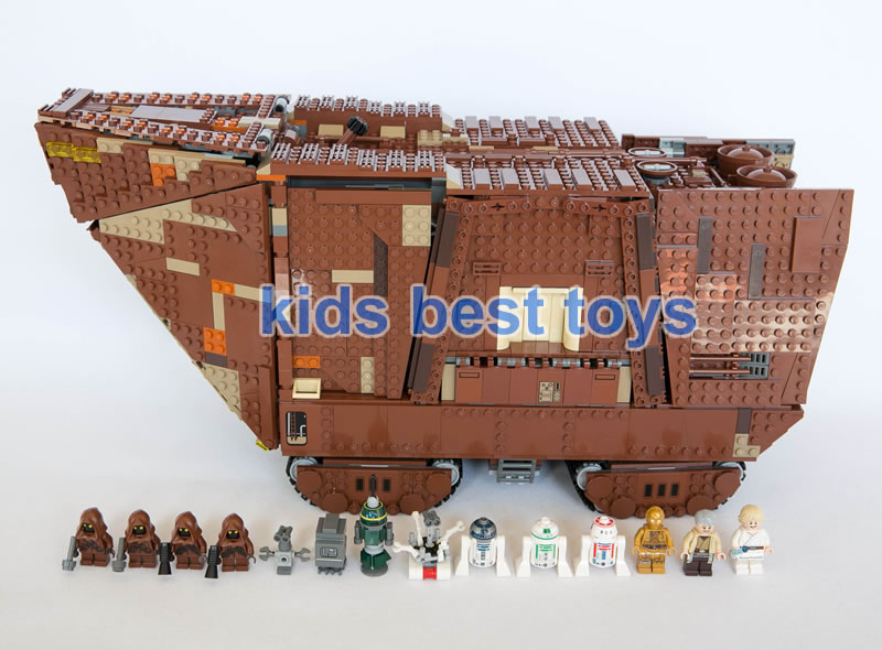 Star Wars Sandcrawler 05038 DIY Big Ship Building Brick Model Boys Gift Same Model 75059