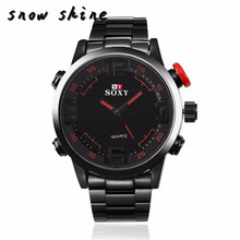 snowshine #10   Mens Luxury Army Sport Wrist Watch Waterproof Analog Quartz Watches    free shipping