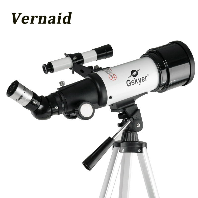 Gskyer AZ70400 Monocular Refractor Space Astronomical Telescope Spotting Scope for beginners View Moon and Planet Travel Scope gskyer telescope 600x90mm az astronomical refractor telescope german technology scope power astronomical mirror telescope