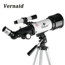 цена на Gskyer AZ70400 Monocular Refractor Space Astronomical Telescope Spotting Scope for beginners View Moon and Planet Travel Scope