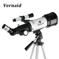 Gskyer AZ70400 Monocular Refractor Space Astronomical Telescope Spotting Scope for beginners View Moon and Planet Travel Scope