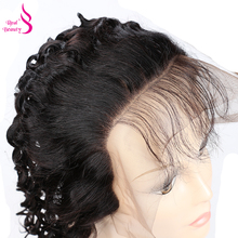 Real Beauty Brazilian Water Wave Lace Frontal 100 Remy Human Hair Ear to Ear 13X4 Closure