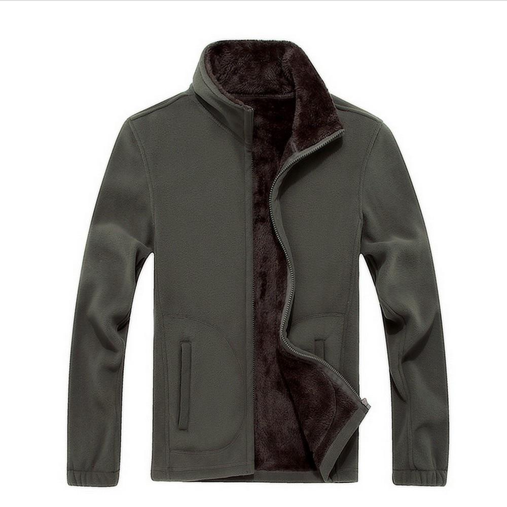 Для мужчин Сгущает ветровка Куртки флис спортивной 6XL 7XL 8XL шерстяной подкладкой с капюшоном Теплый Толстовки Термальность Пальто для будущих мам Кофты для Для мужчин