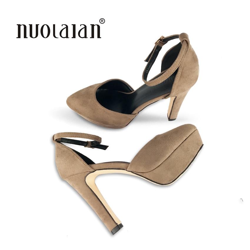 1c2794f2a Новые женские туфли-лодочки на высоком каблуке 12 см, роскошные дизайнерские  свадебные туфли на платформе, пикантная женская обувь на каблук.