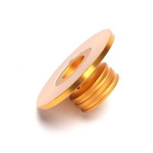 Image 3 - Kaolanhon 60mm avec un amplificateur fin en aluminium gravé plein châssis potentiomètre bouton de volume amplificateurs or