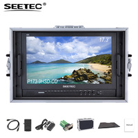 SEETEC P173 9HSD CO 4K HDMI 3G SDI Carry on Broadcast Director Monitor Full HD 1920x1080 Aluminum Design with YPbPr Video Audio