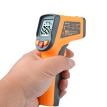 MESTEK MT550 Handheld Digital Infrared Thermometer Gun IR Temperature Tester Industrial Pyrometer -50 to 600 degree Temperature xintest handheld digital industrial infrared thermometer infrared ir thermometer laser temperature gun tester 50 650c ht 817