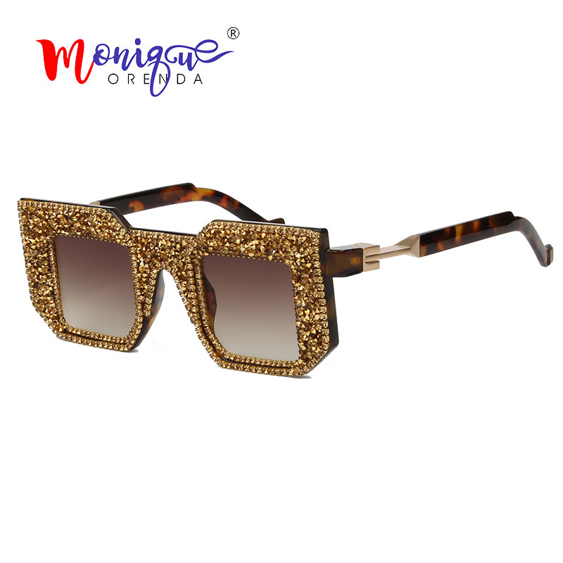 Overiszed 2019  Sunglasses Women Luxury Brand Vintage Sunglasses Men And Women Retro Shades Female Oculos De Sol Feminino