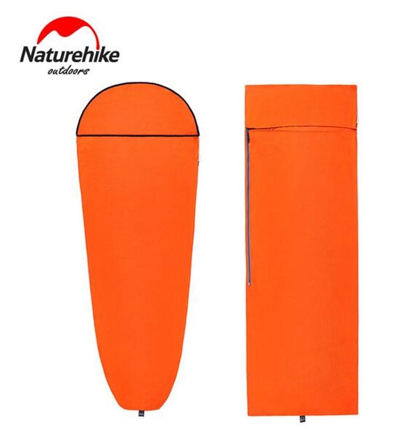 Naturehike Warming Sleeping Bag Liner Envelope Mummy Summer Outdoor Camping Portable Single Bed Sleeping