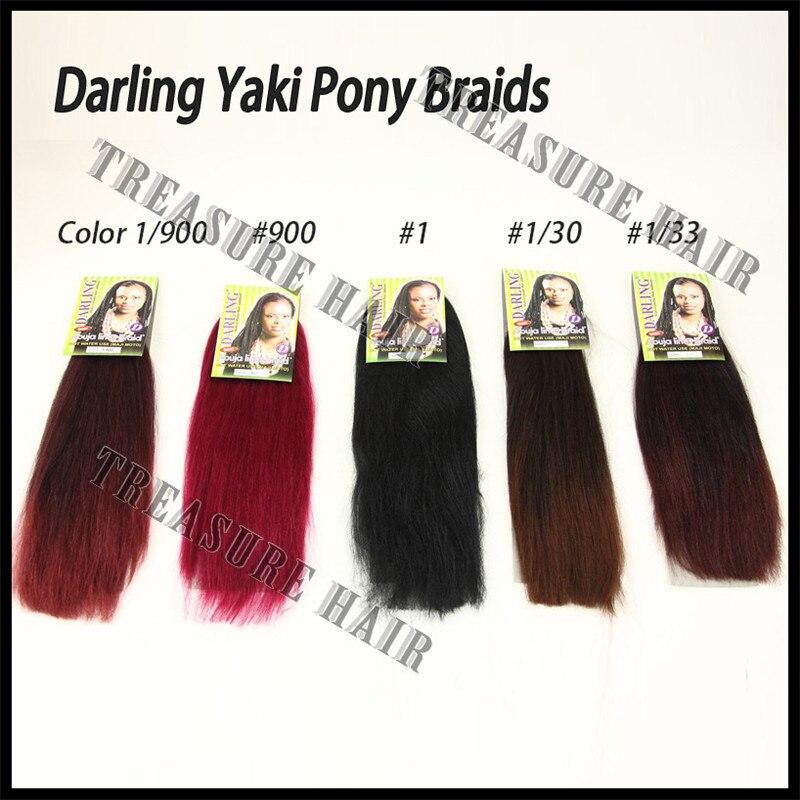 New Aplique De Cabelo Yaki For Braids 24 Color19009001130133