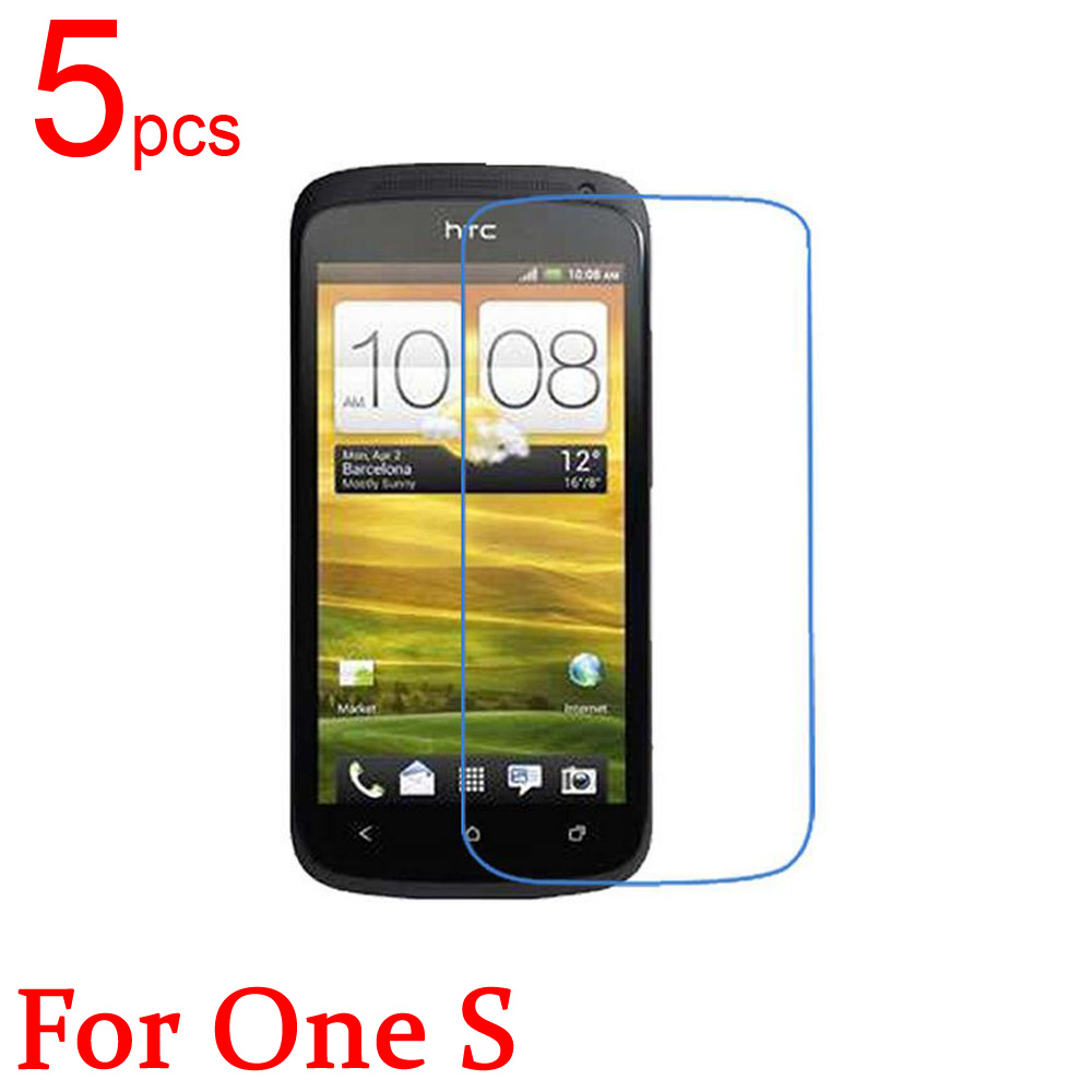 5pcs glossy/Matte/Nano anti-Explosion LCD Screen Protector Film Cover For HTC ONE S Z520E 914e z560e Protective Film + cloth