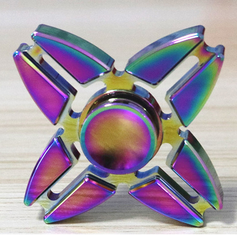 Alloy Hand Spinner Kids Happy Birthday Gift Friend Fingertip Wedding Gyro Festival Party Game Decoration Supplies Party Favors