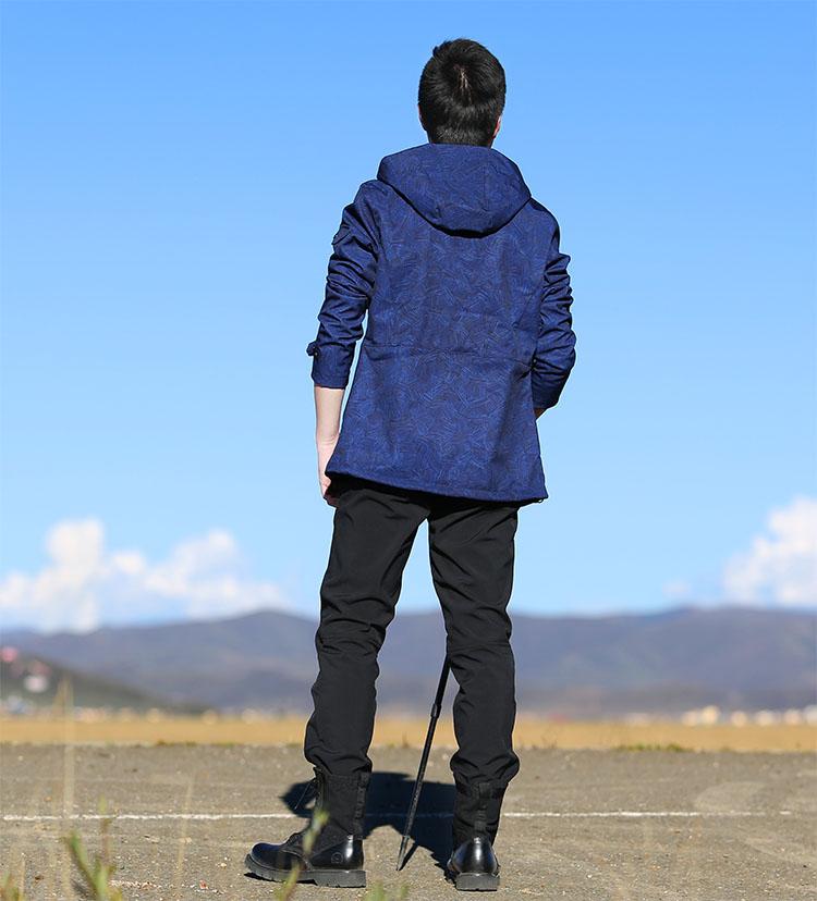 Hiking pants AD021 Model Show 5