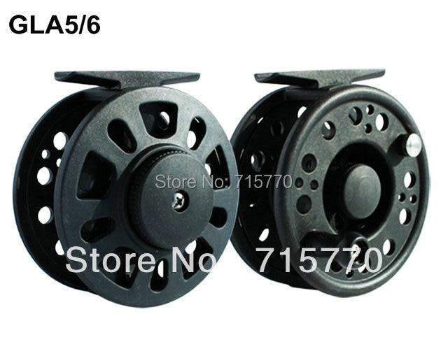 Graphite Fly Fishing Reel GLA5/6 80mm Free Shipping